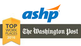 ASHP Named a Top Workplace in 2016