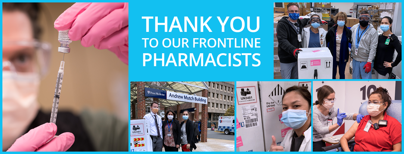 Thank You To Our Frontline Pharmacists