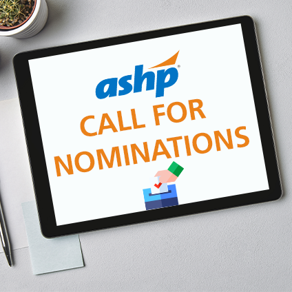 ASHP Call for Nominations