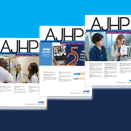 AJHP Call for Abstracts