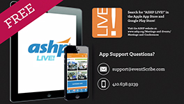 ASHP LIVE! Mobile Meetings App