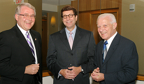 Henri R. Manasse Jr., Paul W. Abramowitz, and Joseph A. Oddis at ASHP Policy Week 2011