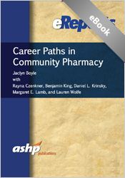 Career Paths in Community Pharmacy
