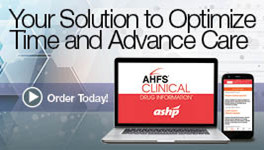 AHFS® Clinical Drug Information