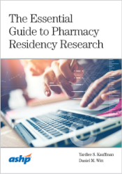Essential Guide to Pharmacy Residency Research Cover
