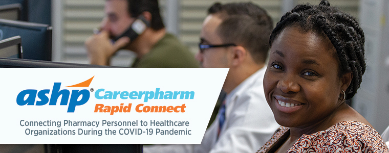 ASHP CareerPharm Rapid Connect