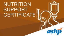 Nutrition Support Certificate