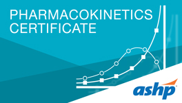 Pharmacokinetics Certificate