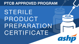 Sterile Product Preparation Certificate Image